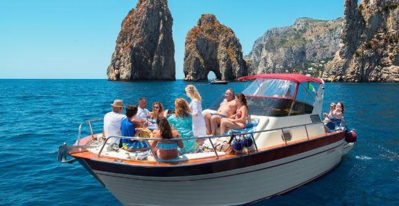 Sorrento: Coast & Capri Small Group Fun & Swim Tour