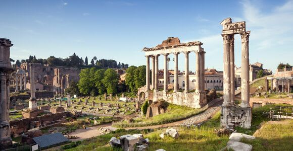 Coliseo y Foro: ticket con vídeo multimedia