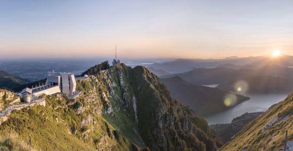 Lugano: Monte Generoso Roundtrip Cogwheel Train Ticket