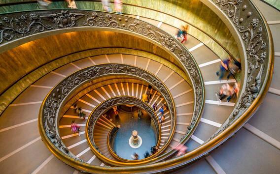Roma: Musei Vaticani, Basilica di San Pietro, Tombe dei Papi