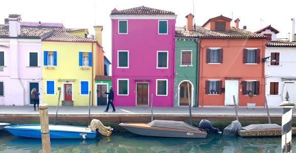 Venecia: tour de medio día en barco por Murano y Burano