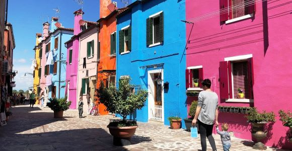 From Jesolo: Day Trip to Murano, Burano, and Torcello