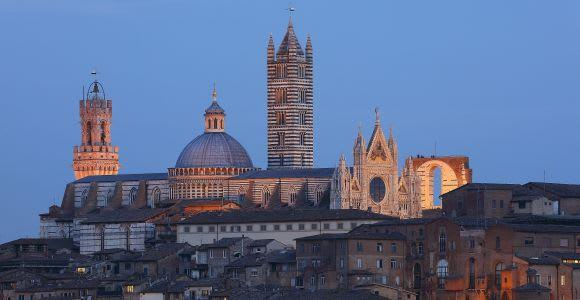 Cathédrale de Sienne et bibliothèque: entrée coupe-file