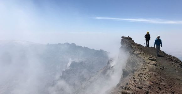 Mount Etna: Cable Car, Jeep and Hiking Excursion to Summit