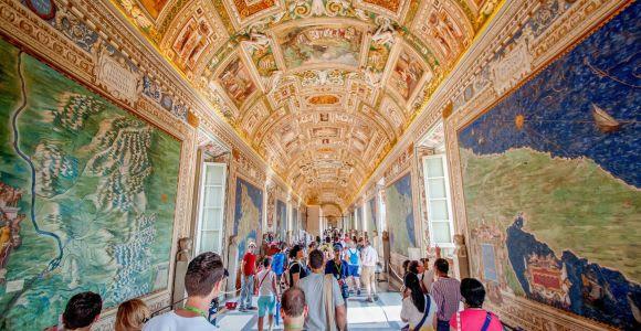Roma: tour guiado oficial Museos Vaticanos y Capilla Sixtina