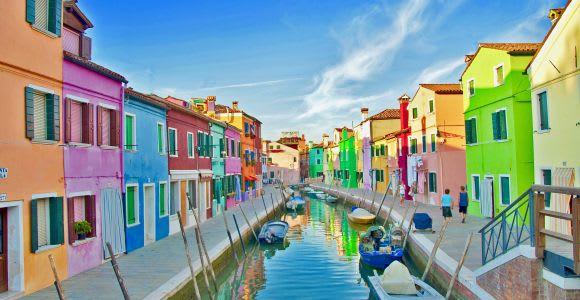Venice: Murano, Burano and Torcello Multilingual Boat Trip
