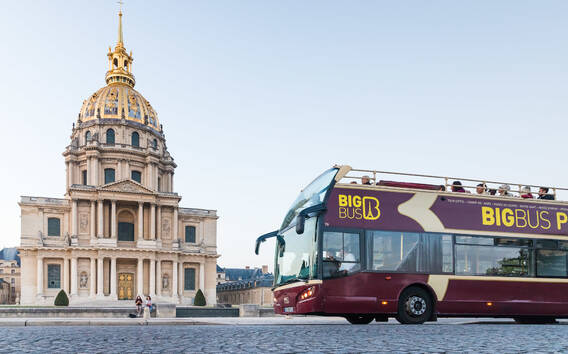 Paris Hop-on Hop-off Bus Tour: Classic, Premium or Deluxe