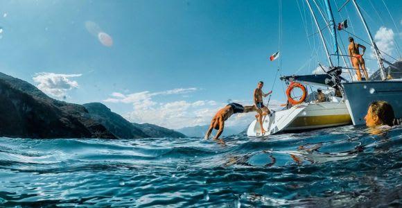 Lake Como: Sailing Boat Experience