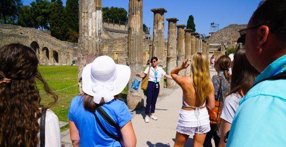 From Sorrento: Pompeii Half-Day Skip-the-Line Tour