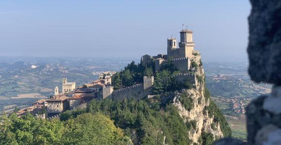 San Marino: Historical Center Private Tour & Cable Car Ride