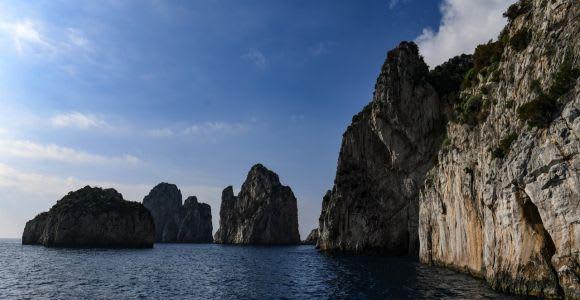 Capri: Boat Trip Around the Island and Blue Grotto Visit