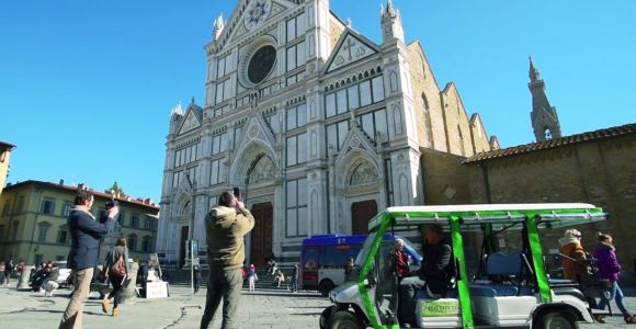 Firenze: tour della città in golf cart ecologico