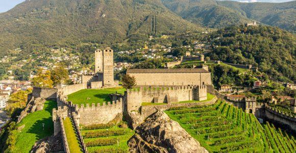 Bellinzona: 3-Castle Ticket including Villa dei Cedri