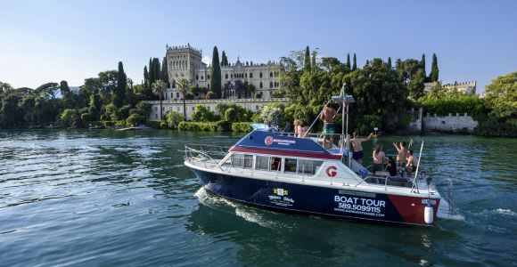 From Peschiera: Garda East Coast Cruise to Sirmione