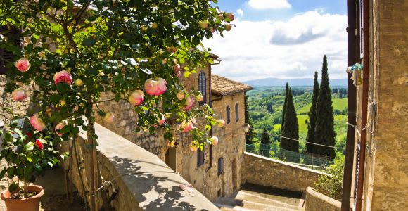 From Florence: Tuscany Day Trip with Optional Lunch and Wine