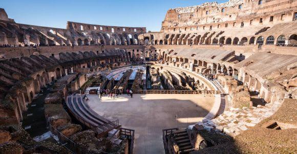 Roma: tour sin colas Coliseo, Foro romano y monte Palatino