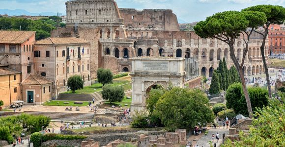 Roma: tour por el Coliseo, monte Palatino y Foro Romano