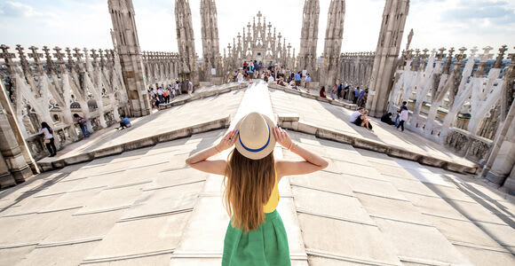 Milan: Cathedral and Rooftop Entry Ticket