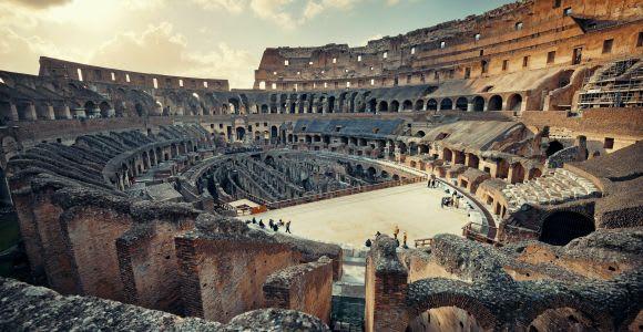 Roma: Coliseo, Arena y tour prioritario por la antigua Roma
