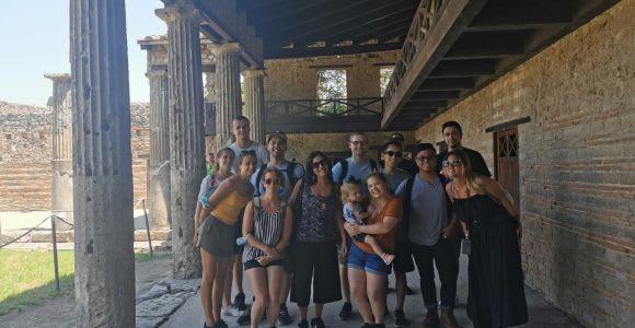From Naples: Pompeii and Sorrento Full-Day Tour