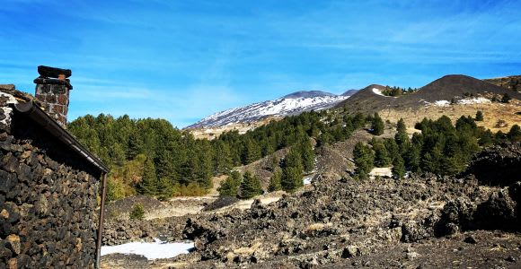 Catania: Mount Etna Morning Jeep Tour