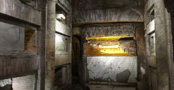 Roma: tour guiado oficial de las catacumbas de San Calixto