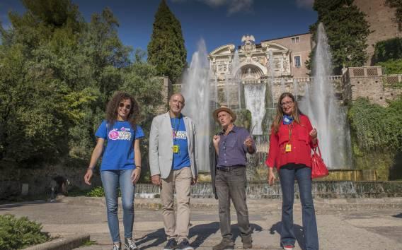 Villa d'Este e Villa Adriana: tour da Roma con pranzo