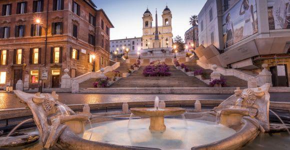 Tour nocturno a pie de Roma (3 hora)