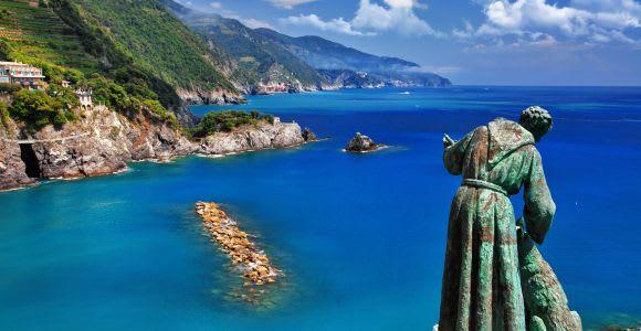 Cinque Terre: Boat Cruise to Riomaggiore and Monterosso