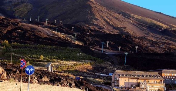 Catania: Mount Etna Tour with Lunch