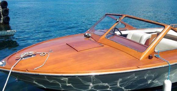 Como Lake: Wooden-Boat Private Tour