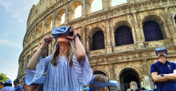 Colosseo: tour guidato con esperienza di realtà virtuale