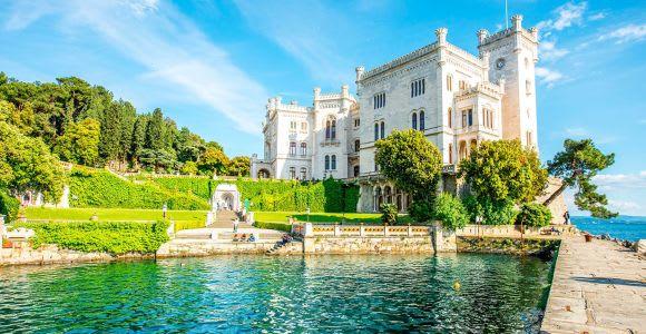 Trieste : billet coupe-file pour le château de Miramare