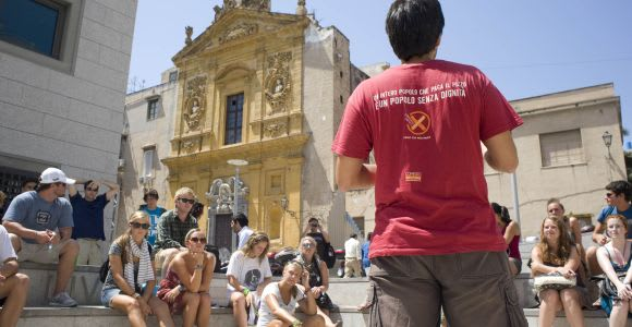 Palermo: tour a piedi senza mafia