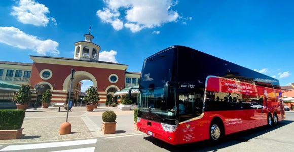 Serravalle Designer Outlet Roundtrip Bus from Milan