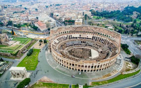 Roma: tour prioritario al Colosseo, Foro Romano e Palatino