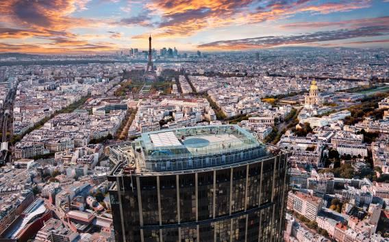 Montparnasse Tower Roof Terrace Ticket: 360 degrees of Paris