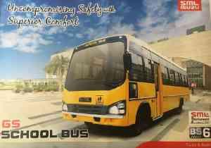 SML Isuzu GS School Bus 5100 : 38 / 52 Seater
