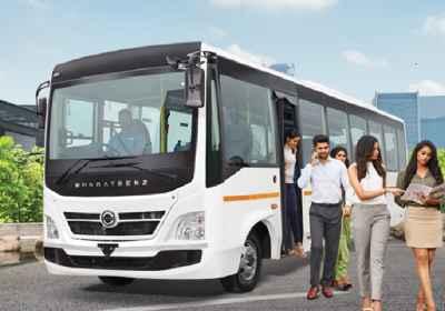 BharatBenz 1017 : Staff 35 / 39 Seater
