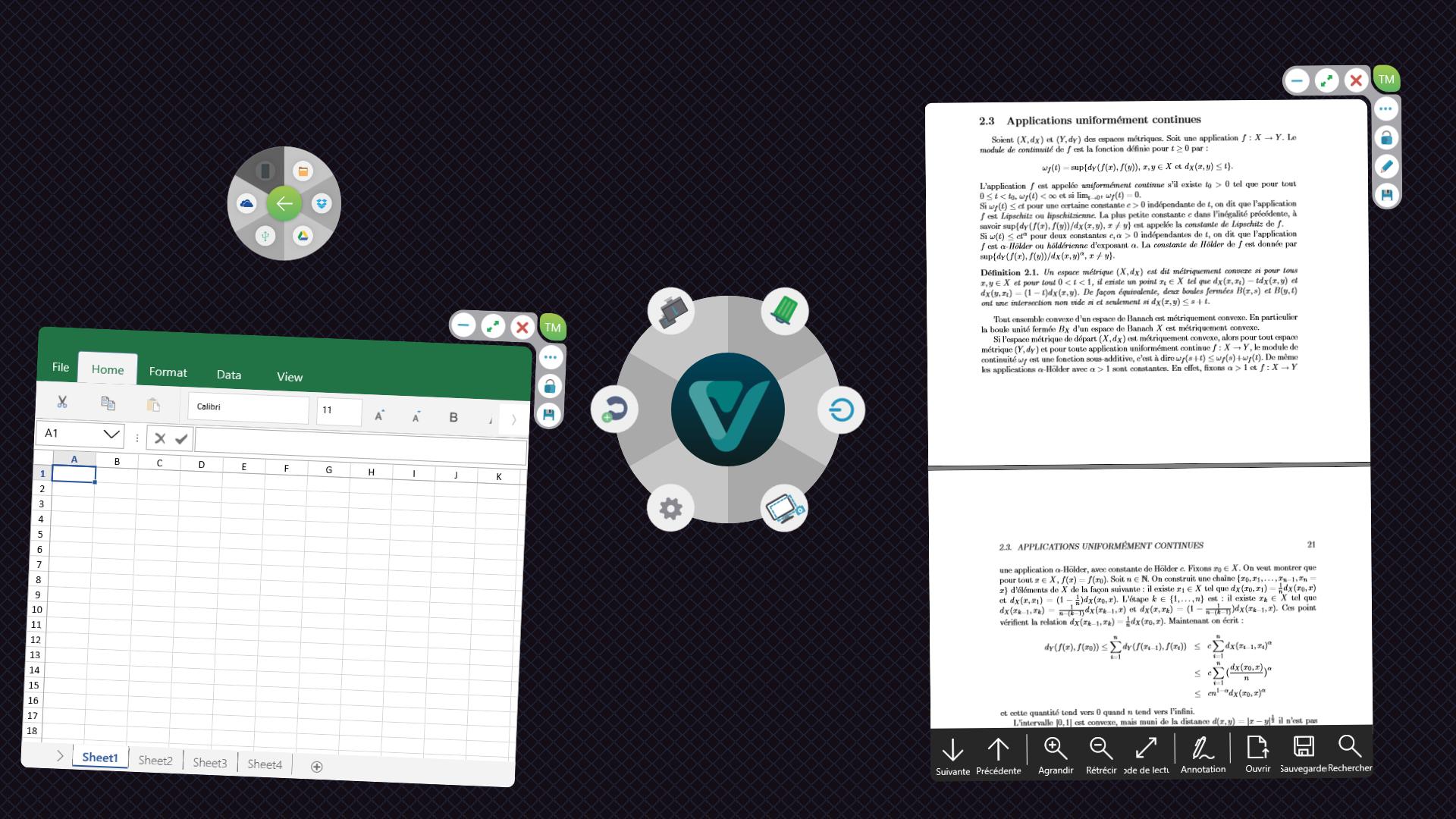 Interface Vdesk