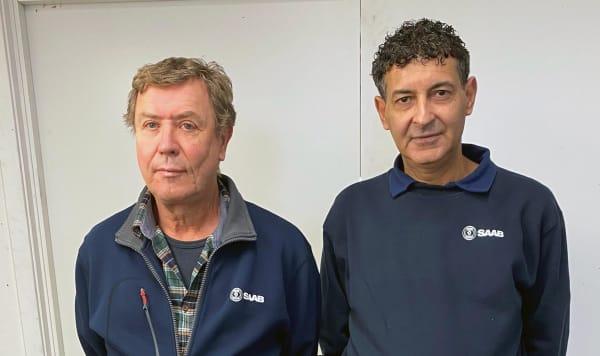 Johnny Oscarsson and Franco Rhuma