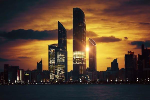 Abu Dhabi view