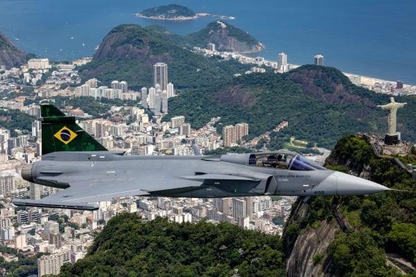 Gripen E Rio de Janeiro