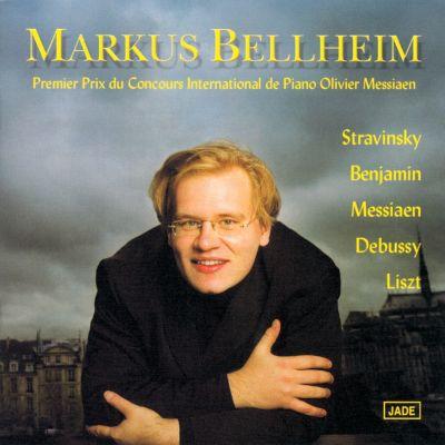Markus Bellheim - Premier Prix du Concours International de Piano Olivier Messiaen 2000