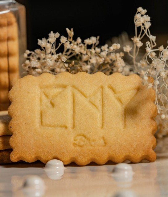 Biscuits avec logo