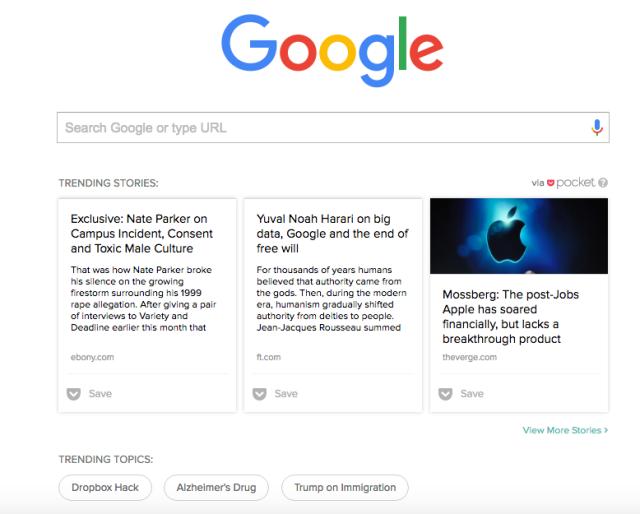 google trend sayfası