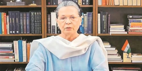 Indian National Congress and the entire opposition unitedly stand by our defence forces: Sonia Gandhi