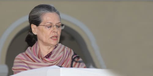 Smt. Sonia Gandhi addressed the people via video message on 28th May, 2020