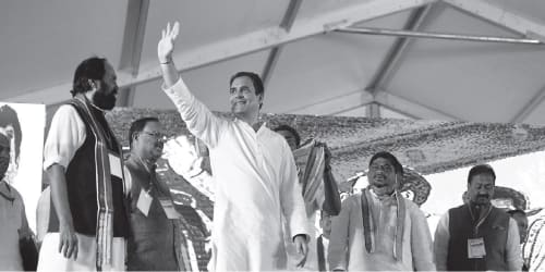 Congress launches frontal attacks on TRS