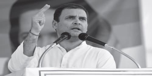 Rahul Gandhi lashes out at Narendra Modi over demonetization